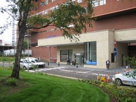 Hospital Main Entrance and Retail Development